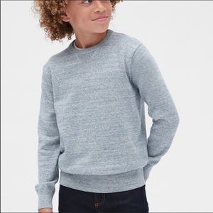 Gap Kids Boy Crewneck Knit Sweater Ribbed Cuff NWT